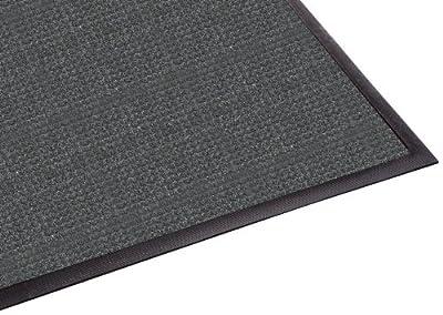 WaterGuard Indoor/Outdoor Wiper Scraper Floor Mat, Rubber/Nylon