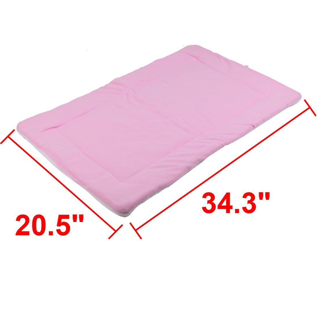 Amazon.com : Rosa DealMux Velo animais Cat Dog Blanket Indoor cama dormindo para se sentar Mat Pad Almofada : Pet Supplies
