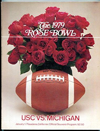 1979 Rose Bowl Game Program USC Michigan NCAA football ()