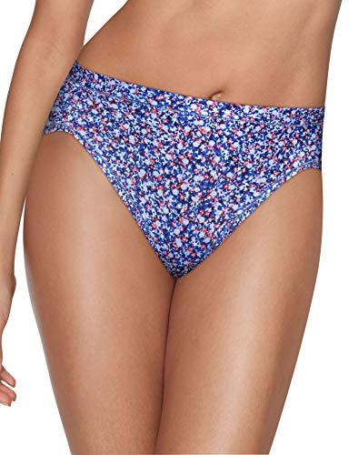 Hanes Womens Ultimate Cool Comfort 4-Pack Hi-Cut Panties, - Cut Brief High Micro