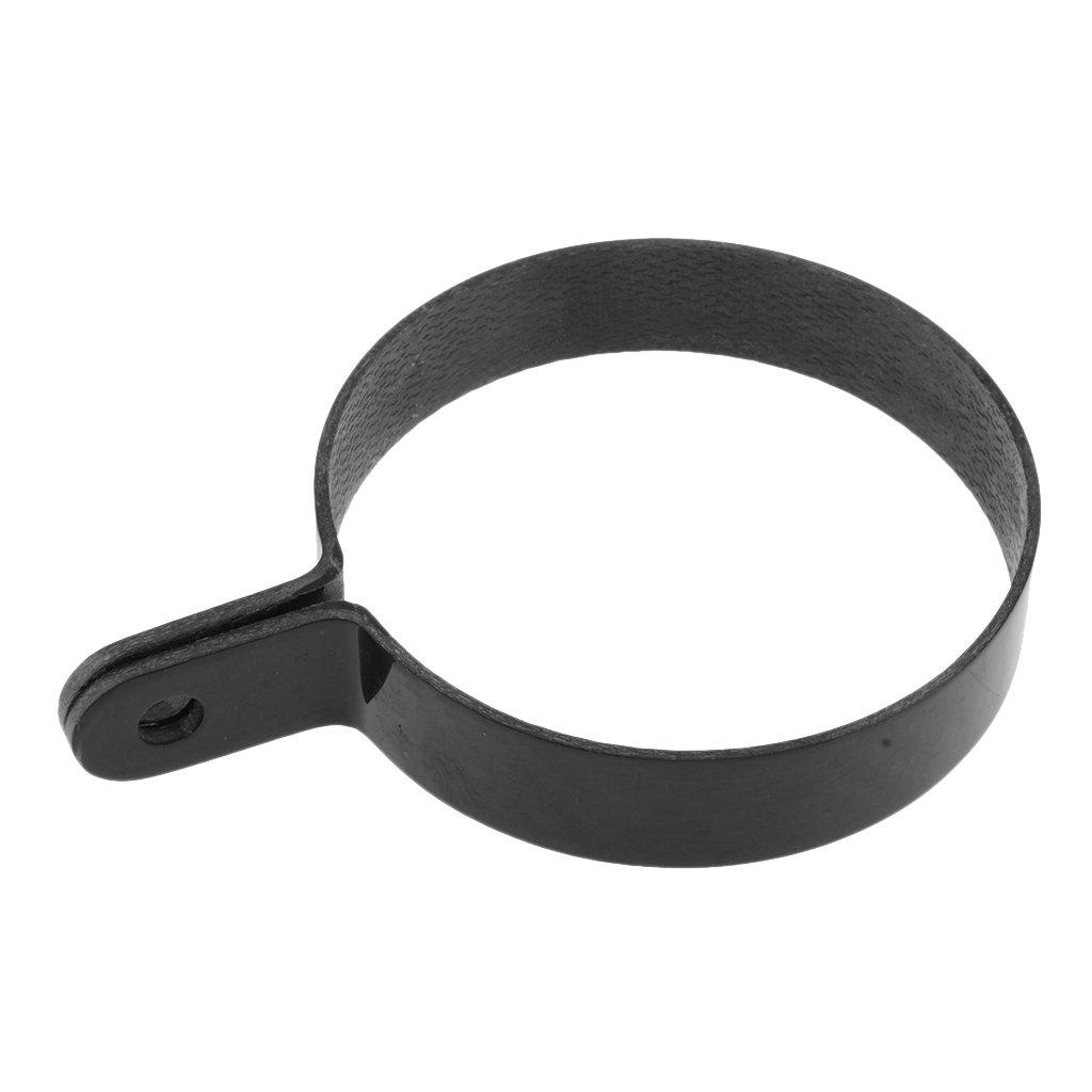 Negro tipo 6 MagiDeal 1 Pieza Suspensor de Silenciador Suspensi/ón Colgante Abrazadera Soporte de Motocicleta