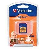 Verbatim 2 GB Secure Digital  Memory Card 95407