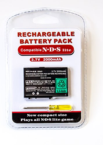 S Lite Battery Pack Replacement - Rechargeable (Nintendo Ds Rechargeable Battery Pack)