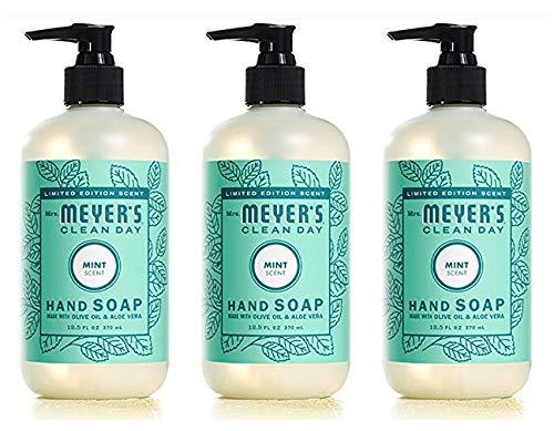 Mrs. Meyers Liquid Hand Soap 12.5 oz (Mint, Pack - 3)
