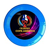 Kim Lennon Chile Winner Football 2016 Custom Leisure Plastic Frisbee Colors And Styles Vary RoyalBlue Size One Size