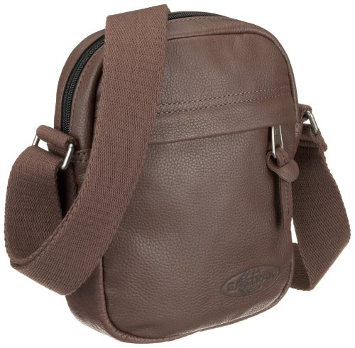 Leather Shoulderbag Unisex Small The Pink EK04522E Eastpak One Brown Psycho Sqzvv