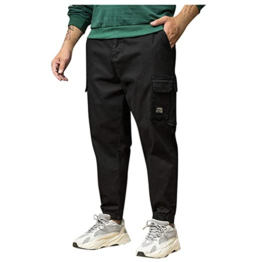 Dwevkeful - Pantalones de chándal para Hombre, Talla, Pantalones ...