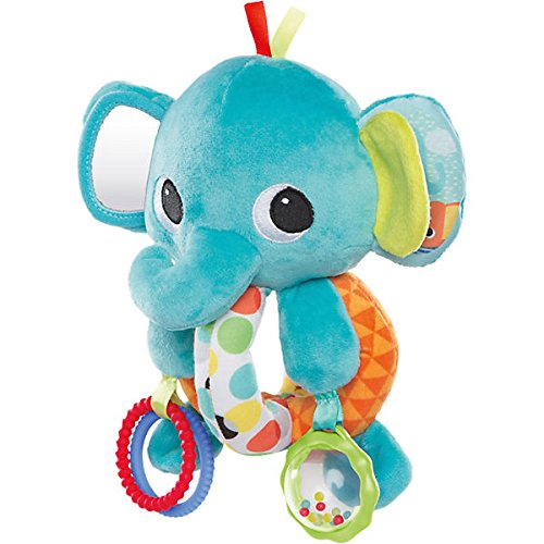 Bright Starts Explore & Cuddle Elephant Car Seat and Stroller