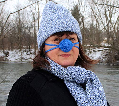Buy 1 Get 1 Free Sale - Crochet Cozy Nose Warmer - Custom Colors Available ...