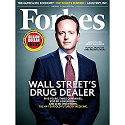 Forbes, January 26, 2015