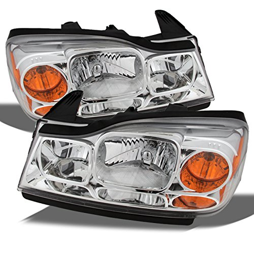 - For Saturn Vue Amber Chrome OE Replacement Headlights Driver/Passenger Head Lamps Pair New