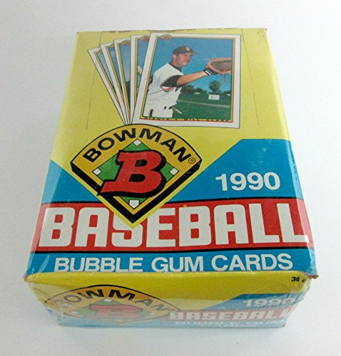 1990 Bowman Baseball Unopened Wax Box (Baseball Bowman 1990)