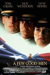 Amazon Com A Few Good Men Movie Poster Tom Cruise Jack