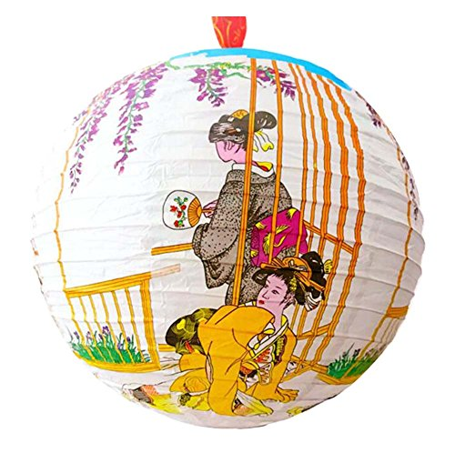 DRAGON SONIC Decorative Japanese Style Lanterns Paper Antiquity Lantern,Restaurant,A4 by DRAGON SONIC