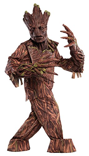 Groot Guardians Of The Galaxy Costume - Rubie's Costume Co Men's Guardians of The Galaxy Groot Creature Reacher Costume, Multi, One Size