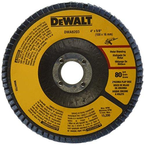 DEWALT DWA8203 Zirconia 4 Inch 8 Inch