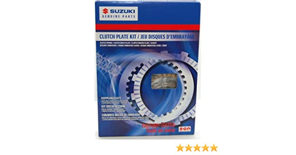Amazon.com: 06-07 SUZUKI GSXR750: Suzuki Genuine Accessories Clutch Plate Kit: Automotive