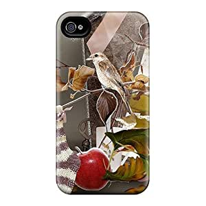 Fashion ZXNRCZV8440cLrrl Case Cover For Iphone 4/4s(winter Begins)