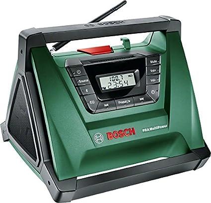 Radio Pra MultiPower Bosch, inalámbrica, portátil (sin ...