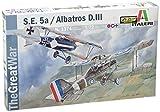 ITALERI 1374S 1/72 S.E.5a / Albatros D.III (2 model kits)
