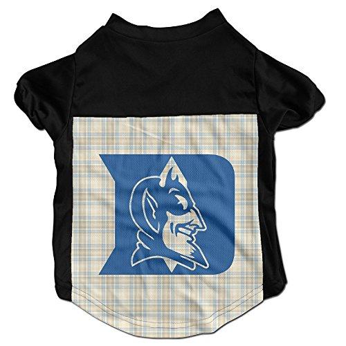 Duke Blue Devils Costumes, Clothing, Shirt, Vest, T-shirt, Puppy Pet Dog Cat Fashion 100% Polyester Fiber Tee Gift For Any Animal Fan Lovers Black Large Duke Cameron Indoor Stadium