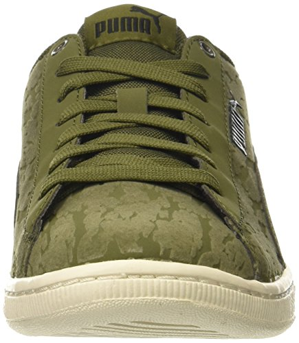 PUMA Womens Vikky Velvet Rope Sneaker Olive Night-olive Night fZ3gXNI