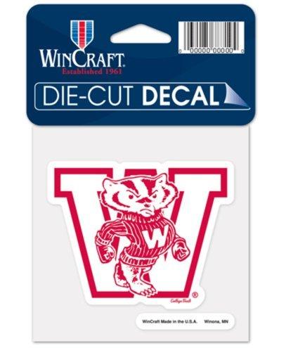 Wisconsin Badgers Ncaa Peel - NCAA University Wisconsin Badgers 4