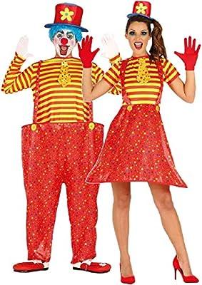 Disfraz de payaso brillante para parejas, mujeres y hombres, para ...
