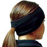 Hot Headz Women's Polarex Fleece Ponytail Ear Warmer Headband