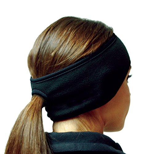 Hot Headz Polarex Fleece Ponytail Ear Warmer Headband - Women's