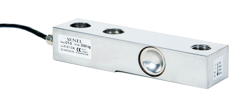 Capteur de pesage CT2 3000 (0 à 3000 kg) Acier inoxydable IP68 micro soudure laser Senel Technologies S.A.