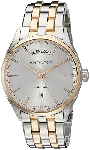 Hamilton Men's H42525251 Jazz master Analog Display Swiss Automatic Two Tone Watch