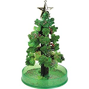 magic christmas tree grow your own crystals christmas gift by lizzy - Crystal Christmas Tree