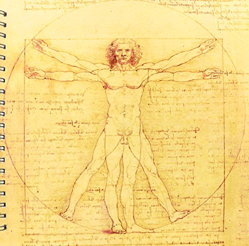 3dRose db 155633 2 Vitruvian Leonardo Anatomical