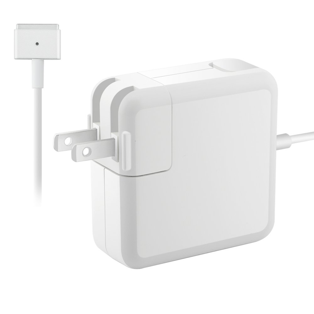 MacBook Air Pro Charger, Work and Compatible with 45W, Great Replacement for Apple Mac Notebook 11 inch 13 inch (After & Mid 2012) 45W MagSafe 2 T-tip