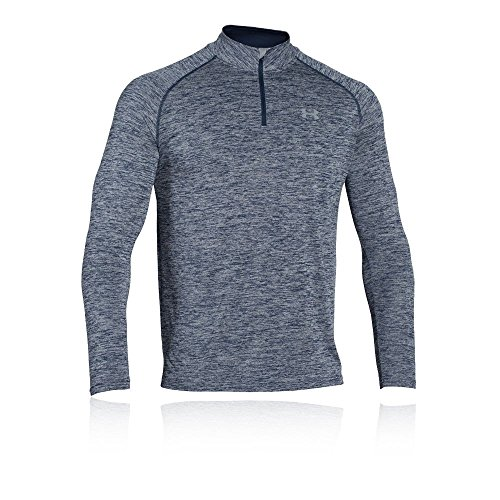 Under Armour Men's Tech 1/4 Zip, Academy/Steel, X-Large by Under Armour (Image #1)