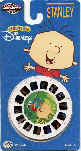Stanley - Playhouse Disney - Classic ViewMaster - 3 Reels on Card - NEW ()