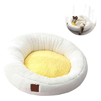 Pet Nest - Cat Litter Kennel Lavable Yema De Huevo Cama para ...