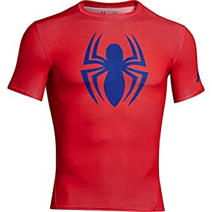Under Armour Mens Alter Ego Compression Short Sleeve T-Shirt Spiderman M