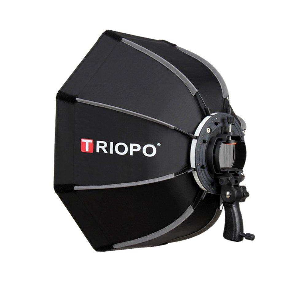 Triopo - Paraguas Octogonal portátil de 55 cm con difusor de ...