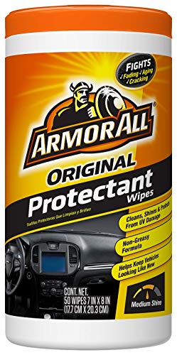 Armor All 10834 Original Protectant Wipes (50 count), 10271G