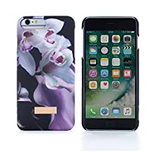 Official TED BAKER® SS16 iPhone 6 PLUS / 6S PLUS Case - Soft Feel Back Shell Case / Cover in Flower Design for Women for Apple iPhone 6S PLUS / 6 PLUS - Ethereal Posie