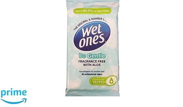 Wet Ones - Be Fresh Original Antibacterial - 12 Packs of 40 Wipes (480 wipes) by Wet Ones: Amazon.es: Salud y cuidado personal