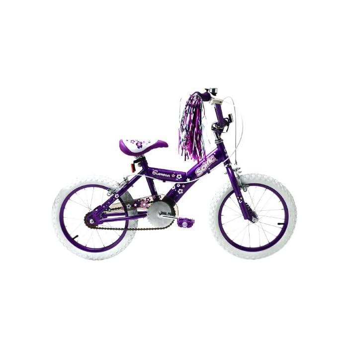 Bicicleta para niña, Sonic Glamour, 16pulgadas