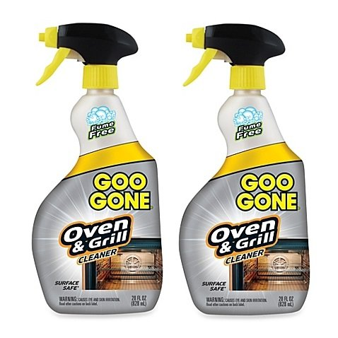 Goo Gone Oven & Grill Cleaner 28-Ounce Spray Bottle (2)