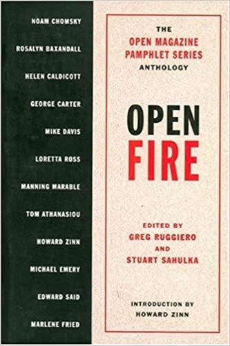 Book Open Fire (Open Magazine Pamphlet Series Anthology)