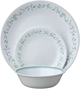 Corelle Livingware 24-Piece Dinnerware Set, Service for 8