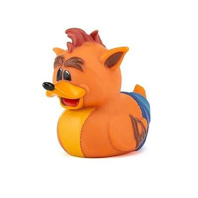 TUBBZ Crash Bandicoot Crash Collectible Rubber Duck Figurine – Official Crash Bandicoot Merchandise – Unique Limited Edition Collectors Vinyl Gift: Toys & Games