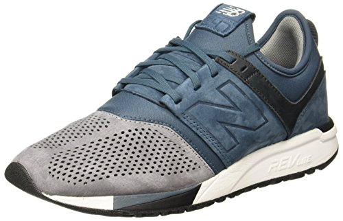 New Herren MRL247N3 Blu Grigio Sneakers Balance wp7qSw0R