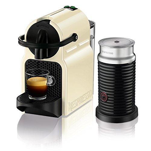 Nespresso DeLonghi Inissia Milk EN 80BAE Cafetera de cápsulas, 1500W, 0.7 L, 19 bareses, compacta, apagado automático…